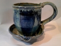 Anthony Stoneware: Blue Glaze
