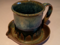 Ray Pottery: Peacock Blue
