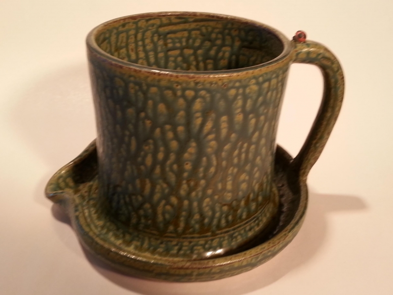 Black Mountain Studios: Green Ash Glaze