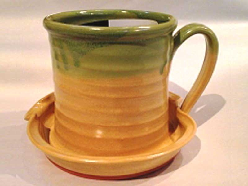 Patrick Rowe: Yellow w. Green Drip