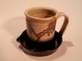 Stegall Stoneware: Black & Tan
