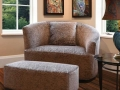 Lazar Love Seat and Ottoman