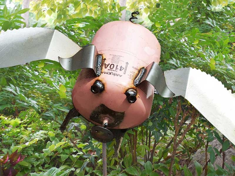 Creative Creations Flying Pig