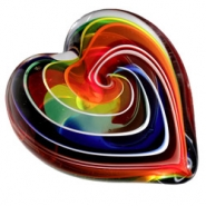 Glass Eye Pride Heart