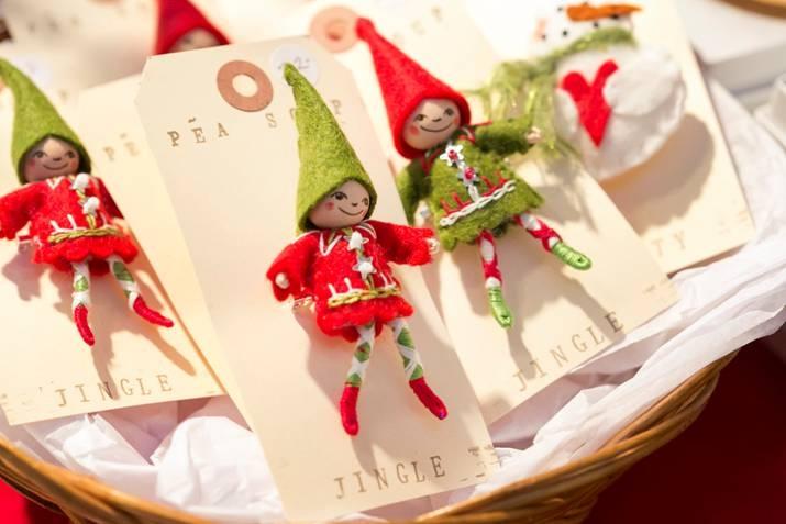 Pea Soup Elf Pins