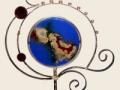 Gary Rosenthal Globe Menorah