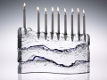 Glasslight Studio Menorah