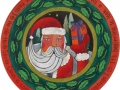 Sticks Santa Lazy Susan