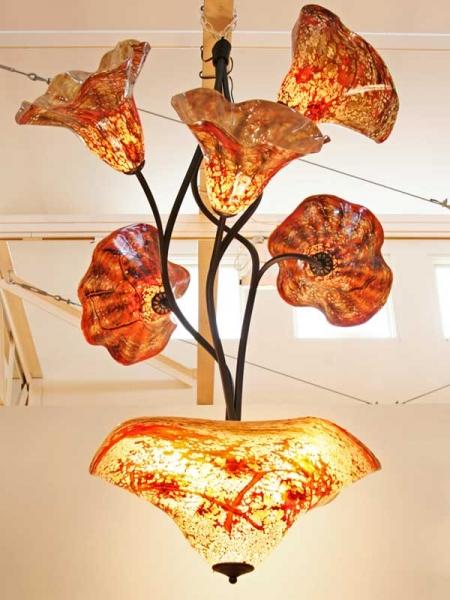 Glasslight Studio  Chandelier