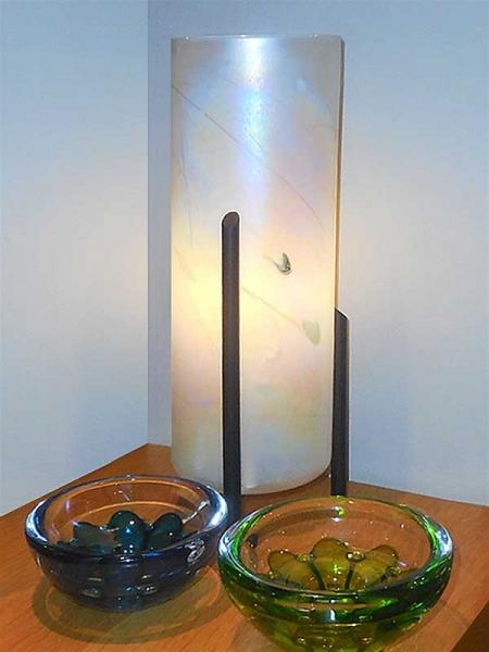 Glass Light Table Lamp
