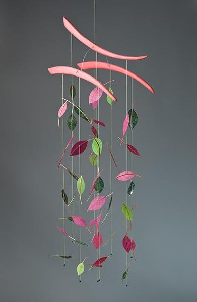 Patty Sgrecci Leaf Mobile