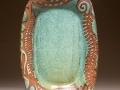 Mangum Pottery Platter (Green Matte)