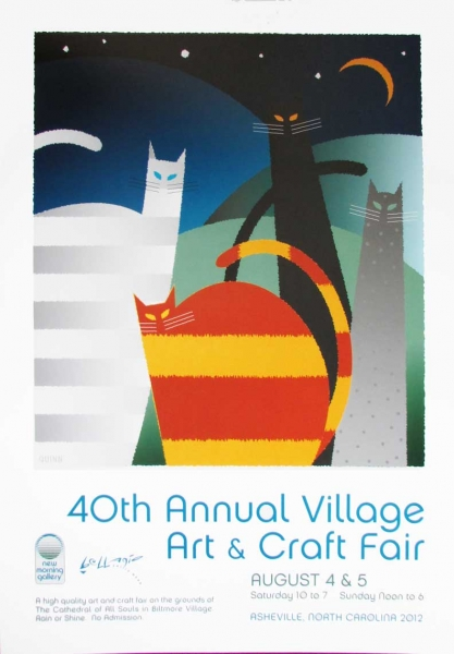 40th Village  Art and Craft Fair Poster