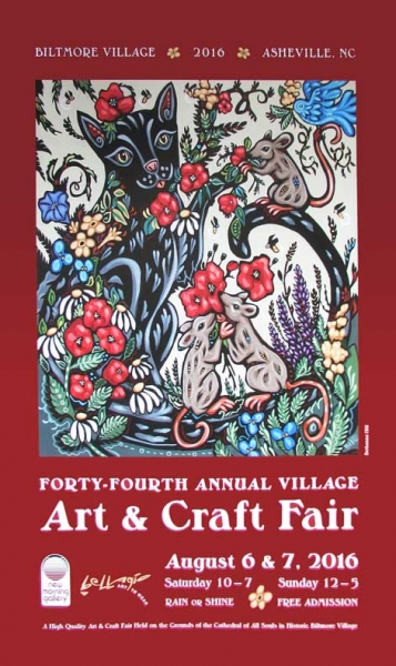 44th Village  Art and Craft Fair Poster