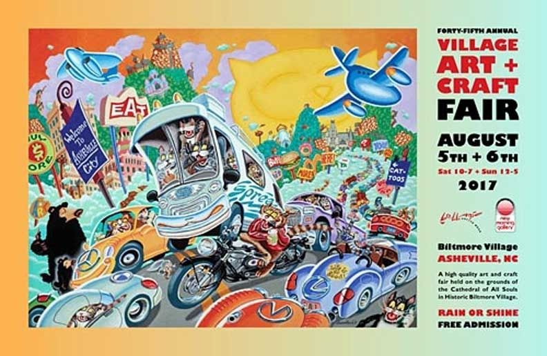45th Village  Art and Craft Fair Poster
