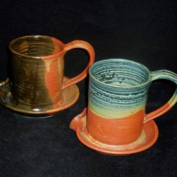 New Morning Gallery Bacon Cookers by Holman Pottery