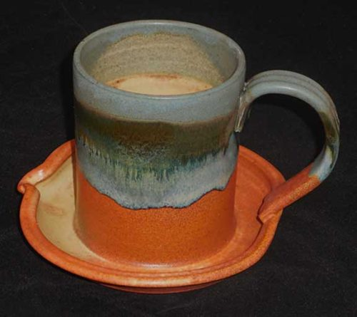 New Morning Gallery Desert Bacon Cookers by Sunset Canyon are made with food-safe ceramics and glazes.