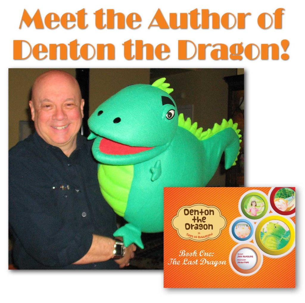 Jeff Hutchins and Denton The Dragon event at New Morning Gallery
