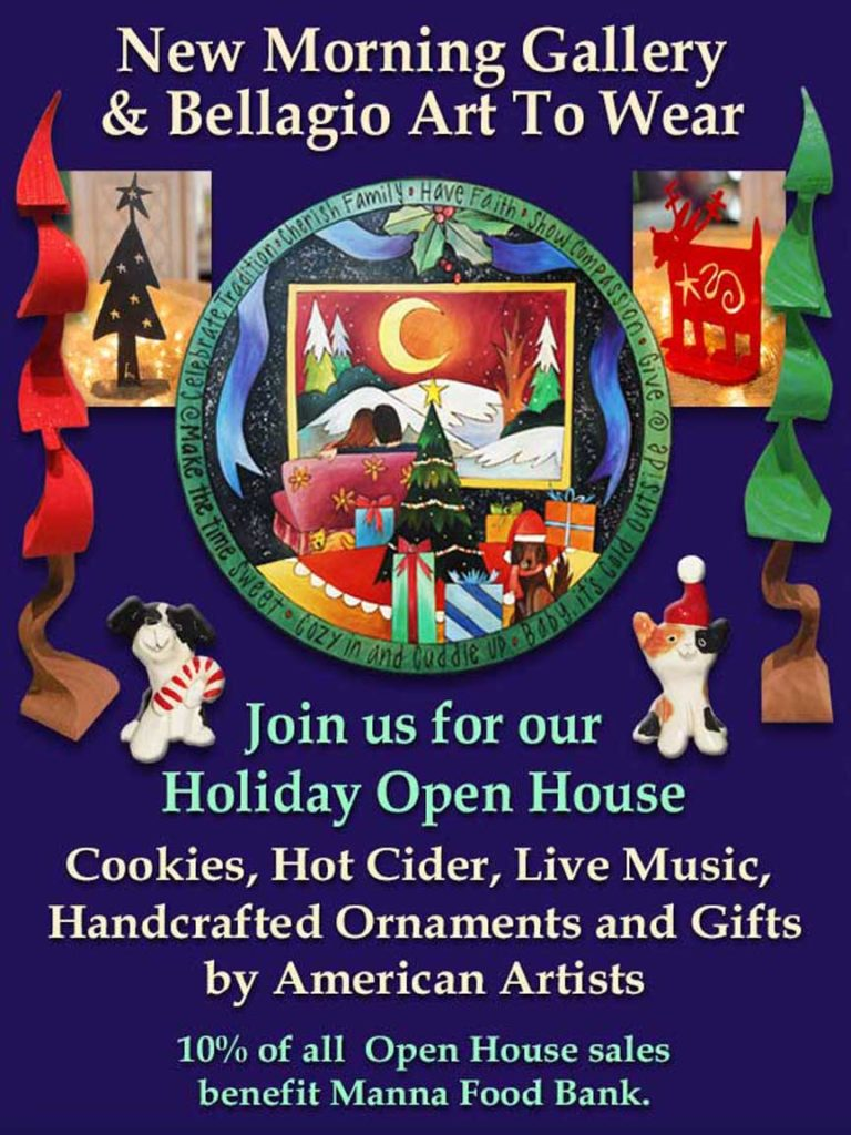 New Morning Gallery Holiday Open House 2019