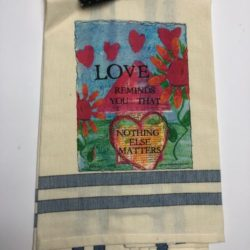 Lunar Designs Kitchen Towel #205 Love Matters