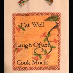 Lunar Designs Kitchen Towel #227 Cook Much