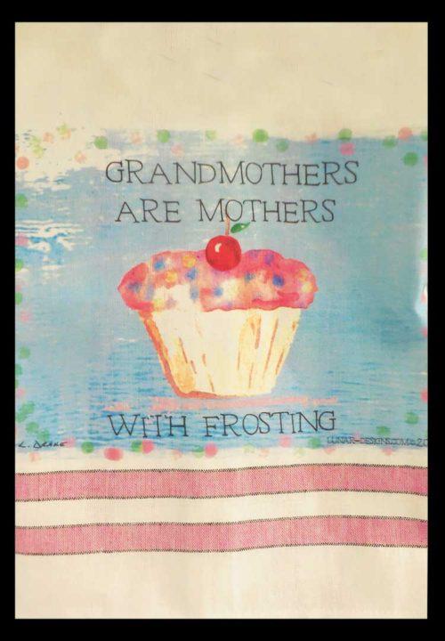 Lunar Designs Kitchen Towel #23 Grandmothers