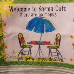 Lunar Designs Kitchen Towel #242 Karma