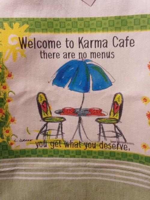 Lunar Designs Kitchen Towel #242 Karma