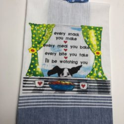 Lunar Designs Kitchen Towel #828 Dog Snack