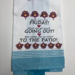 Lunar Designs Kitchen Towel #290 Patio