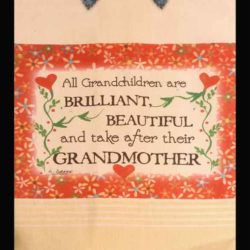 Lunar Designs Kitchen Towel #182 Grandchildren