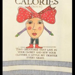 Lunar Designs Kitchen Towel #157 Calories