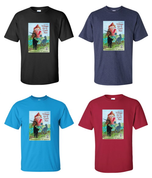 2021 Village Art & Craft Fair T-Shirts